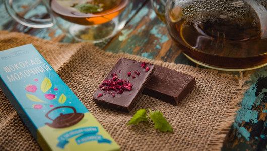 Шоколад с чаем и малиной вкусвилл глобус про