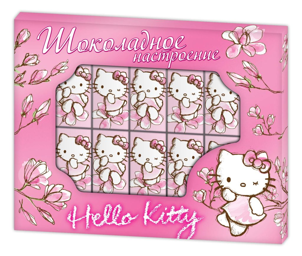 СТМ шоколад подарки hello kitty