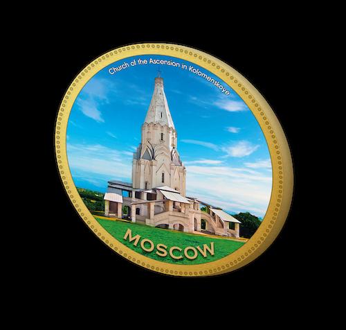 Шоколадная медаль из Москвы