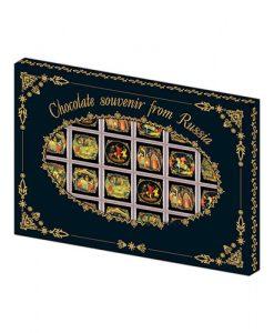 Шоколадный набор Палех 5г х 24шт от фабрики шоколада Глобус Про