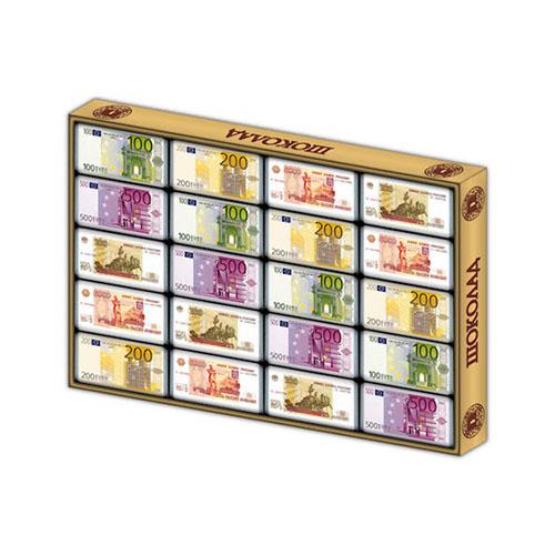 Шоколадные подарки деньги включающие в себя шоколадные евро и рубли