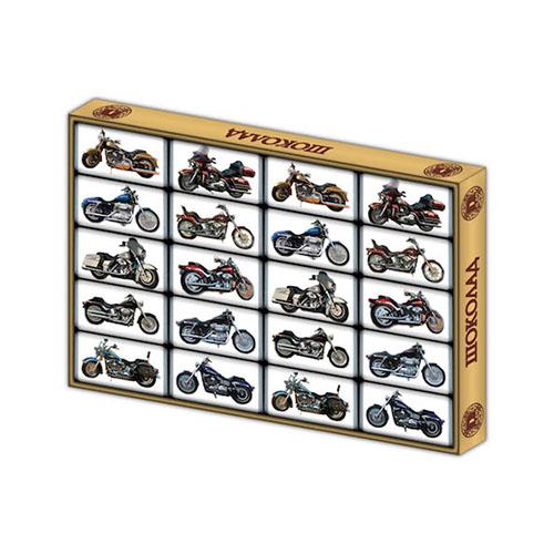 Шоколадные мотоциклы для магазинов от фабрики шоколада Глобус Про