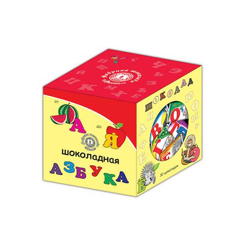 Кубик Шоколадная Азбука для детей школьного возраста