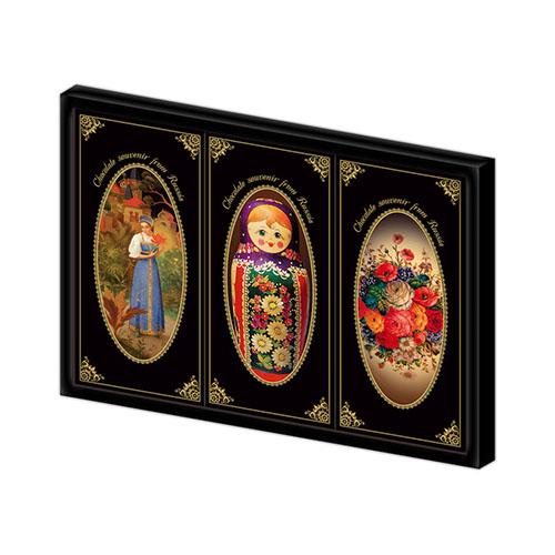 Шоколадная сказка Палех - излюбленный подарок туристов России