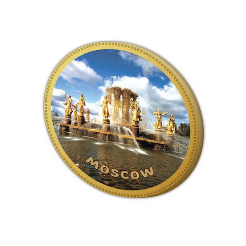 Шоколадная медаль Фонтан Москва