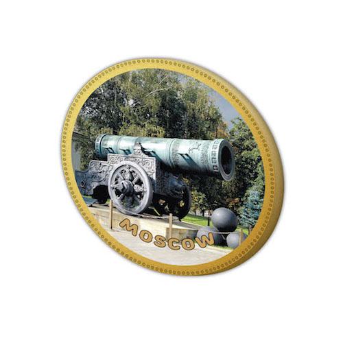 Шоколадный подарок - медаль царь пушка