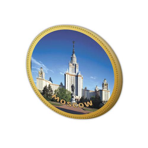 Шоколадный сувенир - медаль Университет, разработанная на фабрике шоколада Дилан+