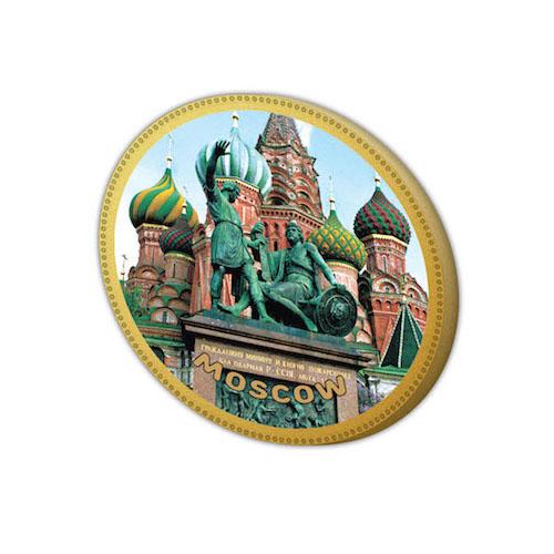 Шоколадный подарок и сувенир - медаль Москва