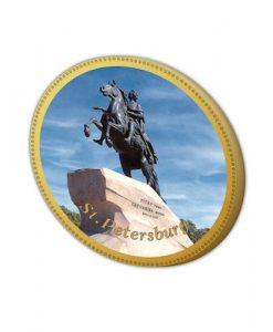 Шоколадная медаль Медный Всадник