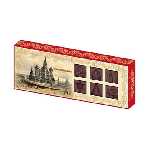 Шоколадные барельефы Москва 100г