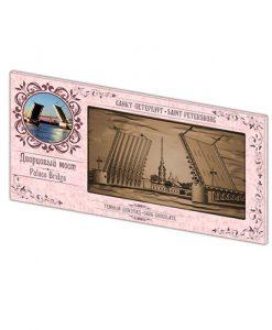 Сувенирный шоколад Дворцовый мост