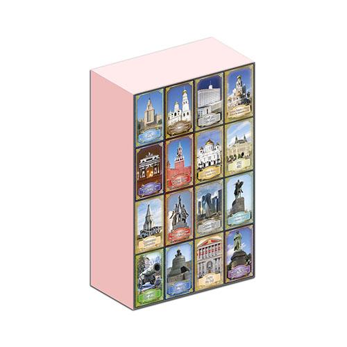 Шоколад Москва 15г подарок от Глобус Про