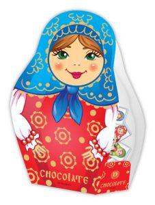 Шоколадная матрешка сувенир Глобус Про