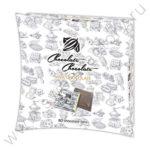 Шоколадные плитки 5г глобус про лого