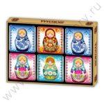 Сувениры из шоколада Россия Глобус Про