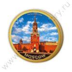 Шоколадная медаль глобус про
