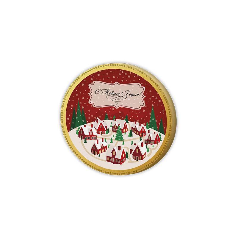 Новогодний подарок шоколад глобус про