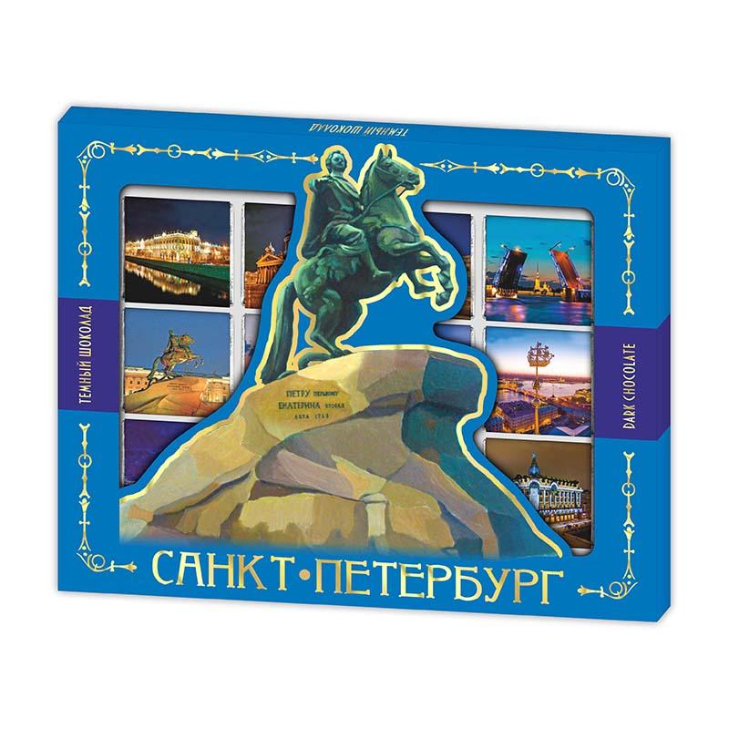 Шоколадный Медный Всадник - сувенир из Санкт-Петербурга