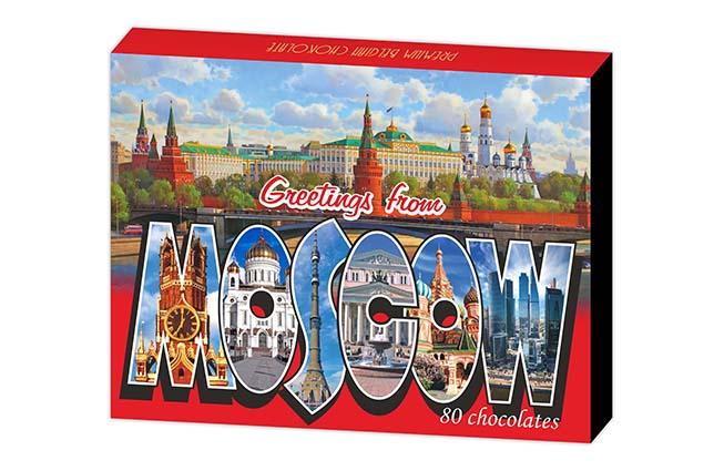 Московские сувениры глобус про sweetfactory дилан