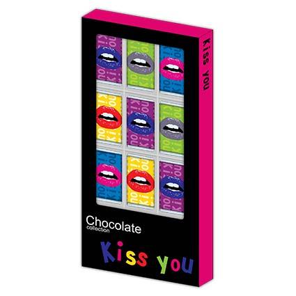 Шоколадные губы под заказ